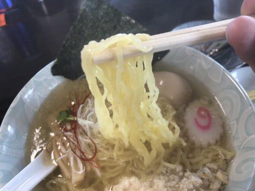 高畠町 塩結び 真鯛中華 麺