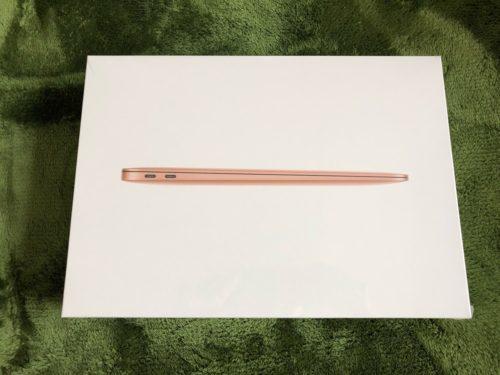 macbook air パッケージ