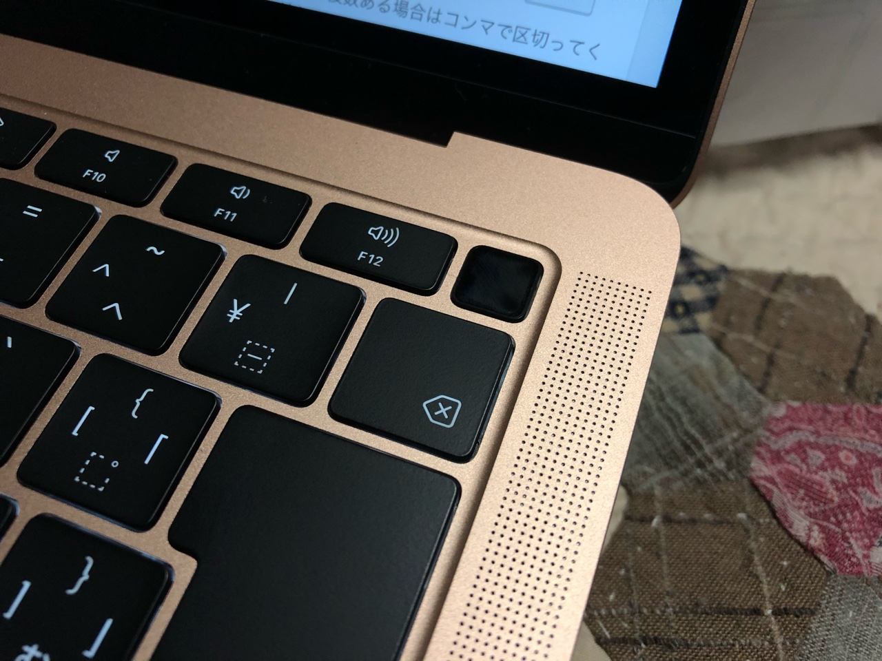 macbook air touch id