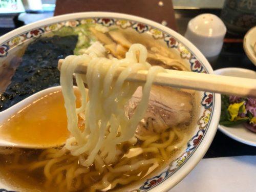 南陽市 ふたば ラーメン 中太麺