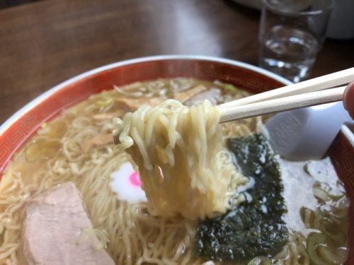 志づ美 米沢ラーメン 細ちぢれ麺