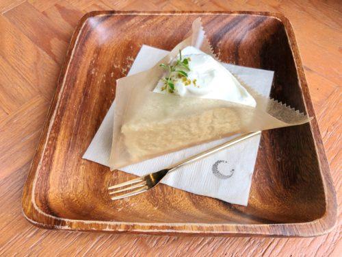 Tsuki Cafe 山形駅前 レアチーズケーキ